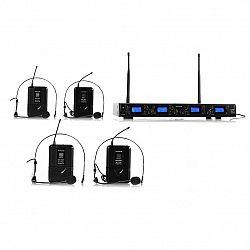 Auna Pro Bezdrôtový mikrofónový set auna Pro UHF-550 Quartett2