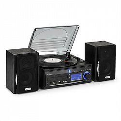 Auna Stereo zariadenie DS-2, gramofón, MP3 záznam