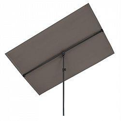 Blumfeldt Flex-Shade XL, slnečník, 150 x 210 cm, polyester, UV 50, tmavosivý