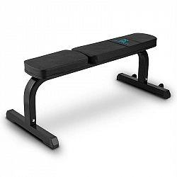 Capital Sports Flat B, čierna, 250 kg, rovná lavička, lavička na činky, oceľ