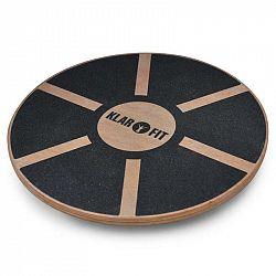 KLARFIT BRD2, balančná podložka, <150kg, priemer 37,5 cm, drevo