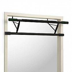 KLARFIT In-door, závesná hrazda na zhyby, 130 kg, EVA pads, oceľ, čierna farba
