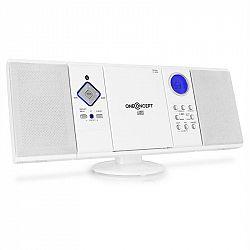 OneConcept V-12-BT bluetooth stereosystém s FM, USB, SD, AUX